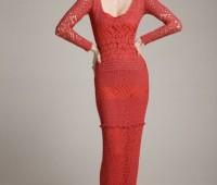 ideas para hacer un maxi vestido tejido a crochet