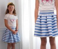 Como hacer una falda plisada con patrones