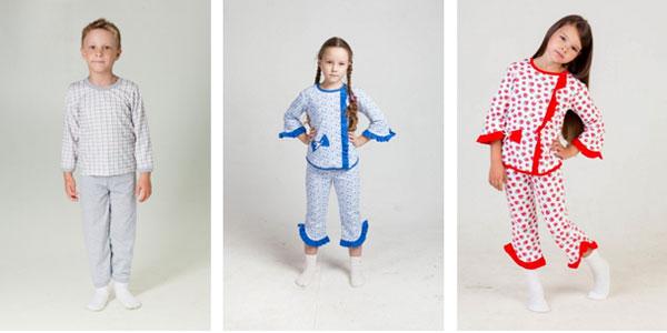 Patron para hacer pijamas para niños