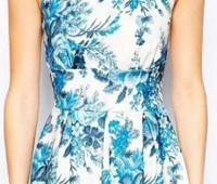 idea para hacer un vestido juvenil de cuello camisero