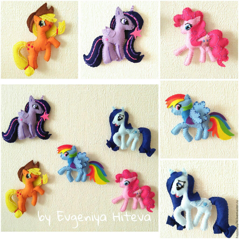 Como hacer un peluche de my Little pony con moldes