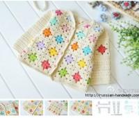 Chaqueta a crochet para niña. esquemas