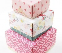 Como hacer cajas de papel paso a paso