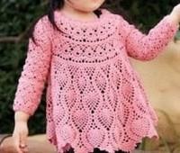 Como hacer una blusa olgado a crochet para niñas