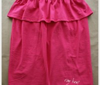 Como hacer una blusa strapless paso a paso
