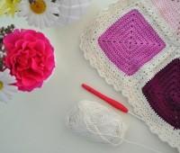 Crochet colchita o cobija para bebé