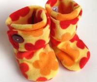 ideas de botines de fieltro para bebe