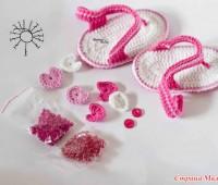 Como hacer unas sandalias a crochet para bebes