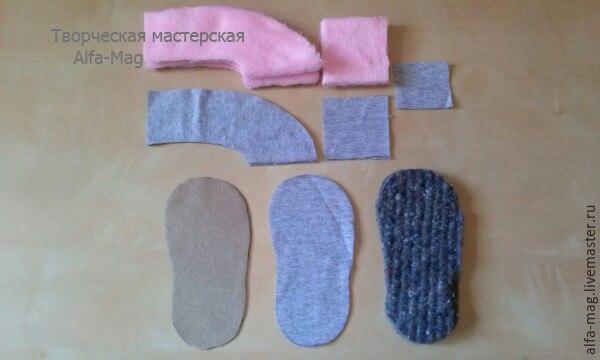 moldes hacer pantuflas conejitos para bebes03