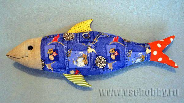 Ideas de como hacer peces de tela