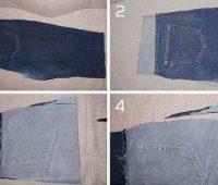 Cómo hacer un cómodo bolsito de blue jean