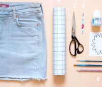 Como renovar tus viejos shorts de jean