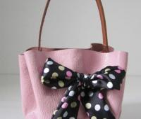 Como hacer un lindo bolso de mano sin costuras