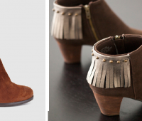 Como renovar viejas botas con flecos