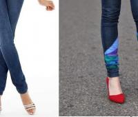 Como renovar jeans con un toque de color