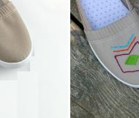 Como renovar zapatillas con bordados sencillos ¡Ideal para principiantes!